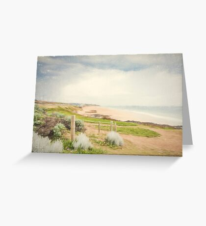 Bunbury Beach, Western Australia Greeting Card