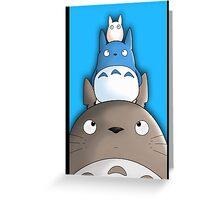 Totoro. Greeting Card