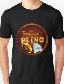 The Fellowship of the Bling T-Shirt