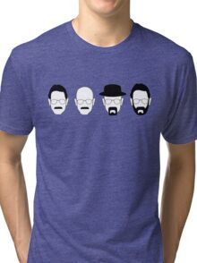 The transformation of Walter White. Tri-blend T-Shirt