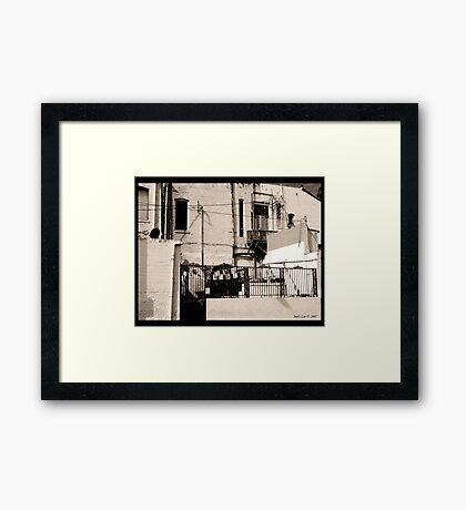 Rooms for Rent Framed Print