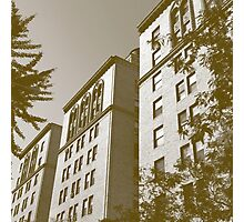 New York City Apartment Buildings Photographic Print