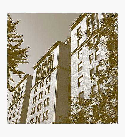 New York City Apartment Buildings Photographic Print