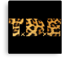 TDE Leopard  Canvas Print