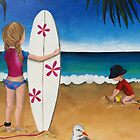 Lucy and Hamish Beachside by Kristy Spring-Brown