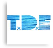 TDE Ocean Canvas Print