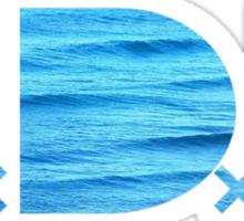 TDE Ocean Sticker