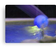 The Blue Ball Canvas Print