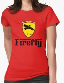 Firefly Ferrari Womens Fitted T-Shirt