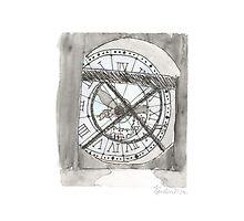 La Musee D'Orsay Clock by KirstenHere