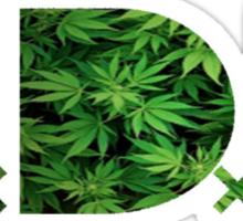 TDE Weed Sticker