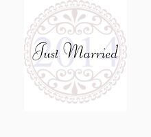 Just Married - Wedding, Married, Love, Marriage, Down the Aisle, Something Blue Unisex T-Shirt