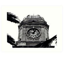 The Clock Art Print