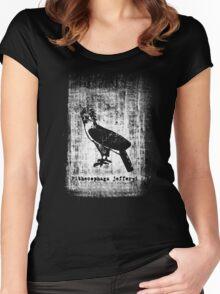 Pithecophaga jefferyi Women's Fitted Scoop T-Shirt