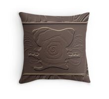 Argument (in chocolate) Throw Pillow