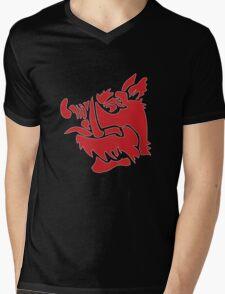 Monty Python Black Knight Emblem Mens V-Neck T-Shirt