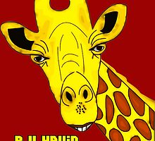 R U Havin A Giggle M8? Giraffe by ChrisButler