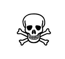 Skull N' Bones Photographic Print
