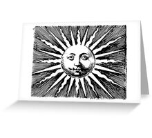Here comes the sun.. Greeting Card