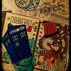 Doctor Who Travel Log  by BlondieZombie