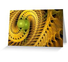 Double Helix Greeting Card