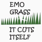 EMO GRASS 2 by Paul Buckley