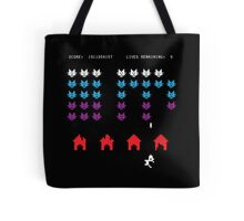 Puss Invaders Tote Bag