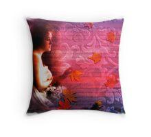 victorian beauty blends Throw Pillow