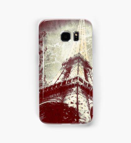 Retro Image of the Eiffel Tower Samsung Galaxy Case/Skin