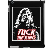 Fuck the king. iPad Case/Skin