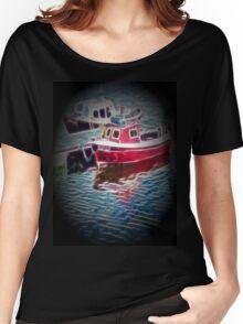 fishing boats Women's Relaxed Fit T-Shirt