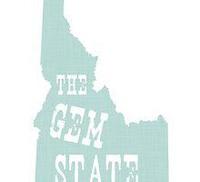 Idaho State Motto Slogan by surgedesigns