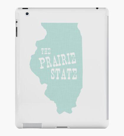 Illinois State Motto Slogan iPad Case/Skin