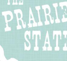 Illinois State Motto Slogan Sticker