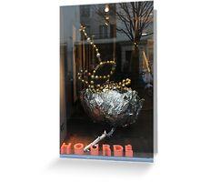 Shopfronts of Paris #19 Greeting Card