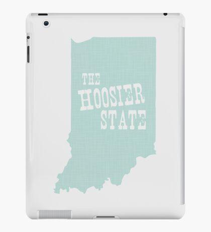 Indiana State Motto Slogan iPad Case/Skin