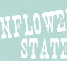 Kansas State Motto Slogan Sticker