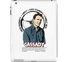 Neal Cassady - Beat Icon iPad Case/Skin