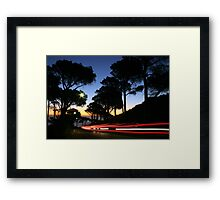 Low Light Early Night Framed Print