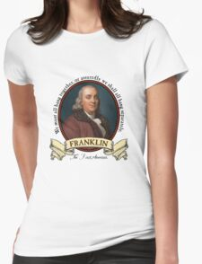 Benjamin Franklin Womens Fitted T-Shirt