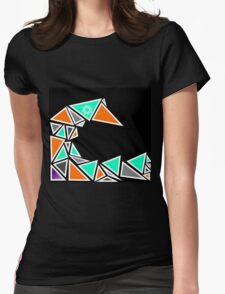 Tri Tidal Wave Womens Fitted T-Shirt