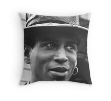 A Character Throw Pillow