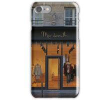 Shopfronts of Paris #24 iPhone Case/Skin