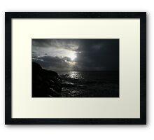 SILVER LIGHT Framed Print
