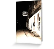 old hardware shop series Greeting Card