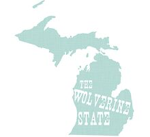 Michigan State Motto Slogan by surgedesigns