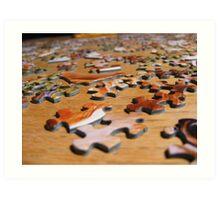 Puzzle Art Print