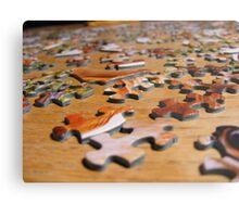 Puzzle Metal Print