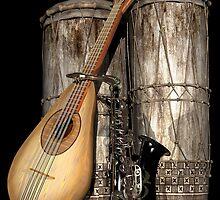 Three Man Band by Lisa  Weber