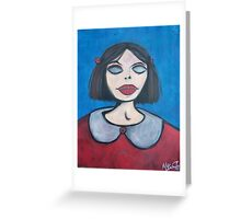 blind Betsy Greeting Card